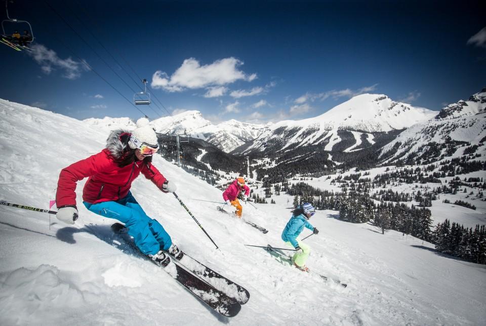 Ski Banff-Lake Louise, Alberta