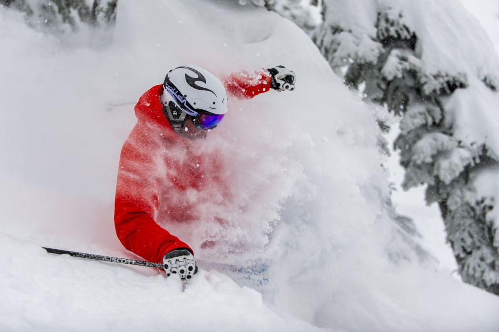 Champagne Powder ski holiday at Big White Ski Resort, BC. Canada: