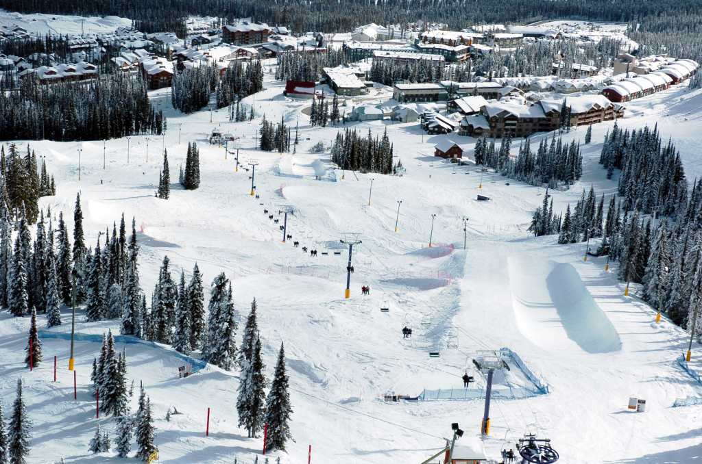 Big White terrain park