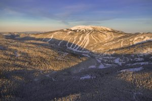 Sun Peaks Resort - 3 mountains meet in one village. Courtesy of Sam Egan