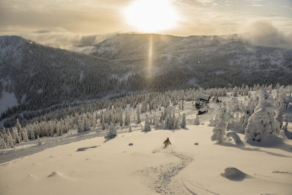 Skiing at Red Mountain Resort