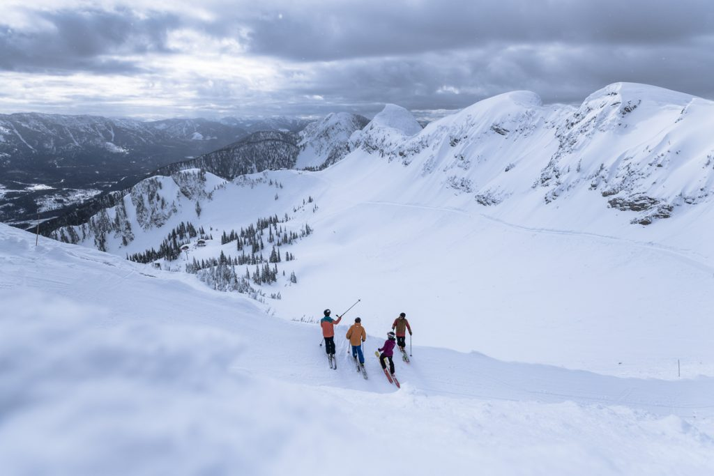 Fernie ski trail