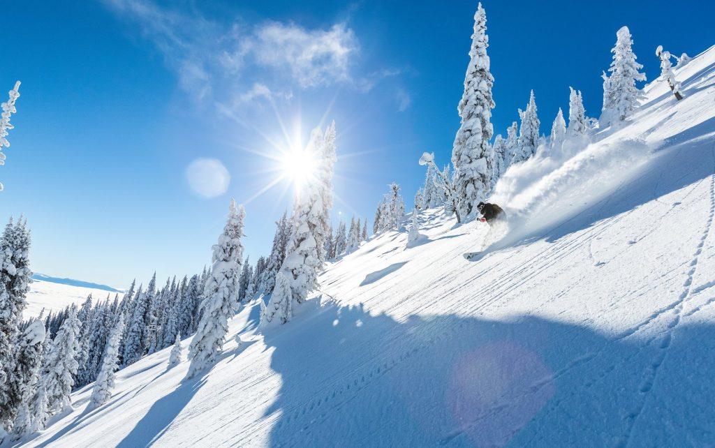 Red Mountain ski trail