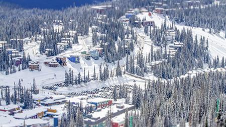 Aerial view of SilverStar