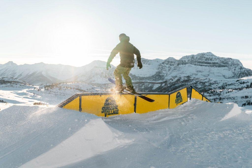 Banff Sunshine terrain park