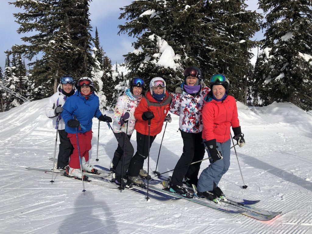 Girls on tour - Big White Ski Resort 2019