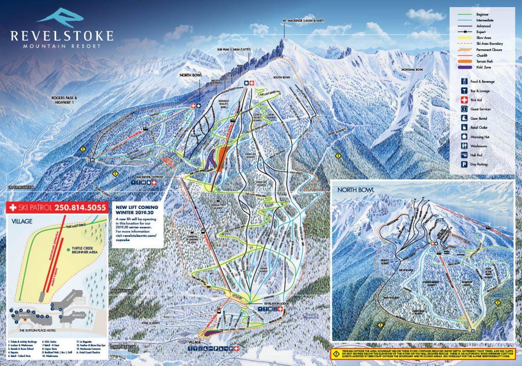 Revelstoke 18-19 Trail Map