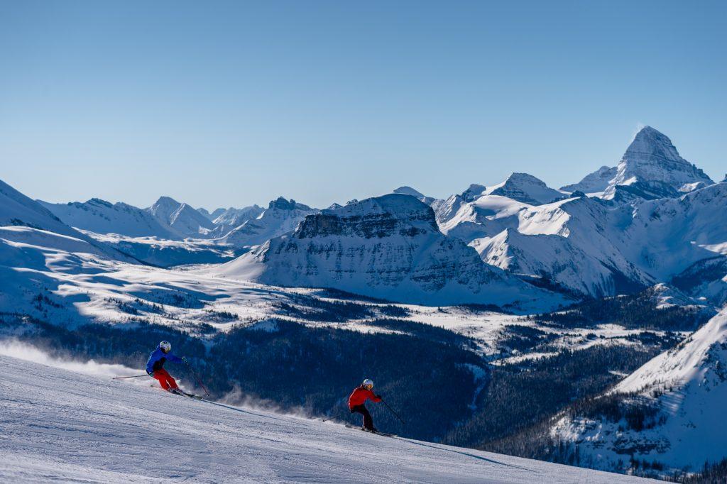 Skiing in Banff Sunshine