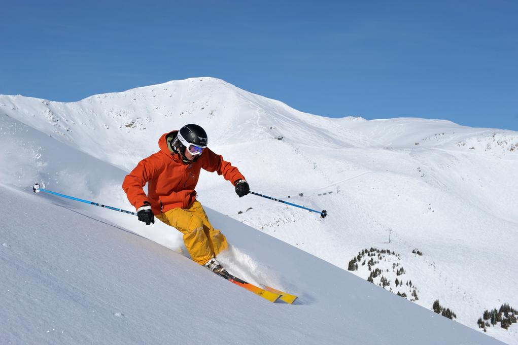 Skiing at Marmot Basin