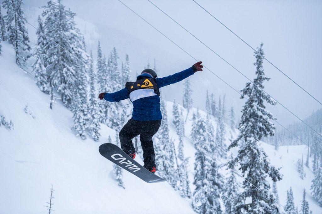 Red Resort -snowboarder - Credit RED Resort