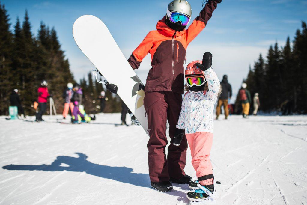 Ski rentals at Le Massif