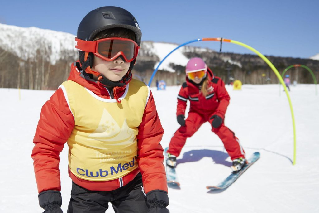 Club Med ski garden