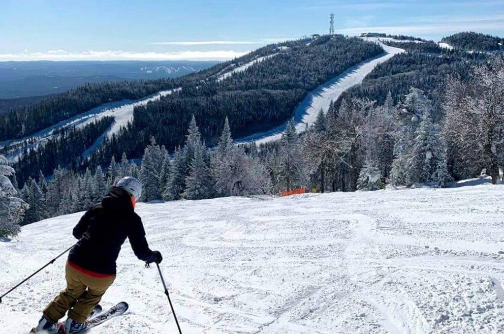 Mont Tremblant skier