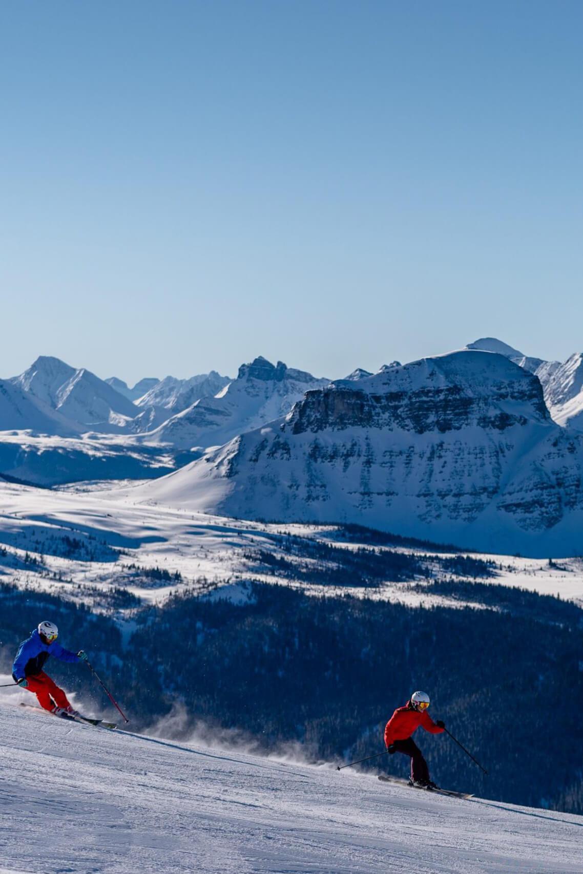Banff Sunshine-skiing
