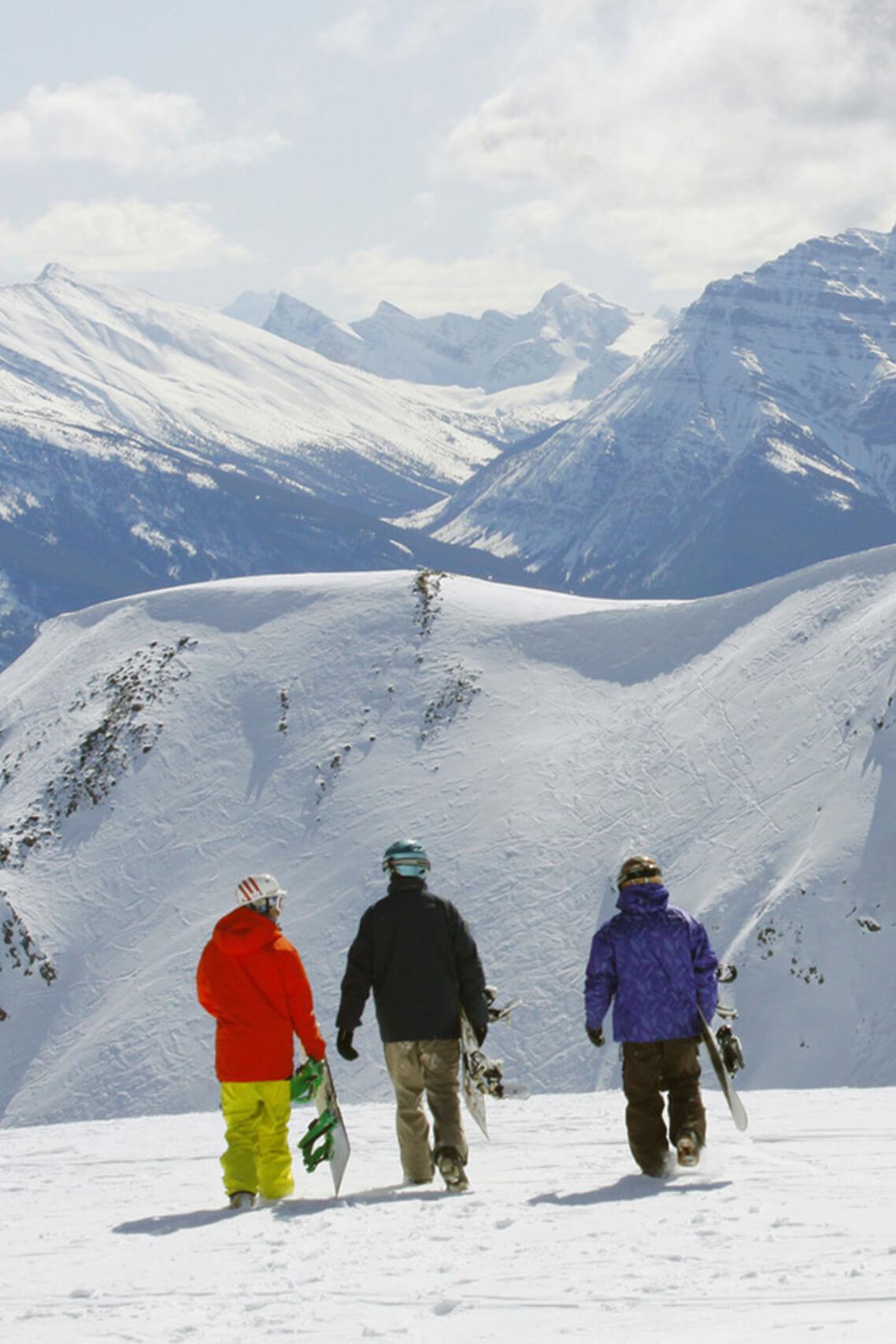 Marmot Basin-skiing