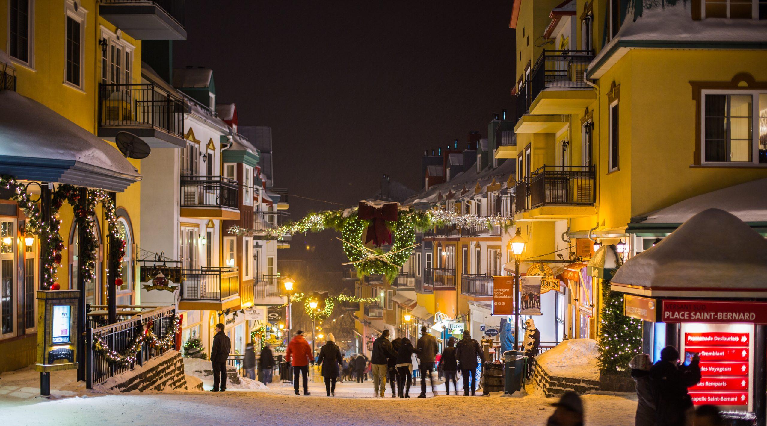 Nightlife at Mont Tremblant